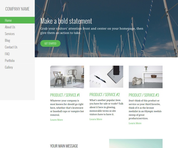 Escapade Boat and Yacht WordPress Theme