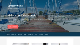 Primer Boat and Yacht WordPress Theme