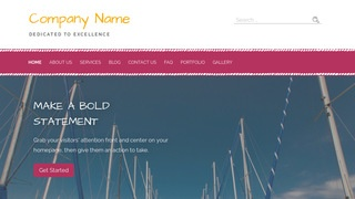 Scribbles Boat and Yacht WordPress Theme