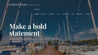 Velux Boat and Yacht WordPress Theme