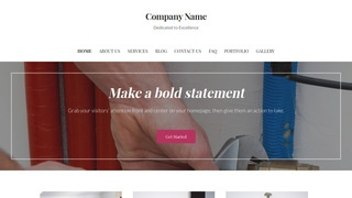 Uptown Style Boiler Repair and Service WordPress Theme
