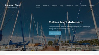 Lyrical Boat Repairs WordPress Theme