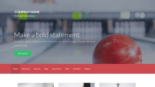 Activation Bowling WordPress Theme