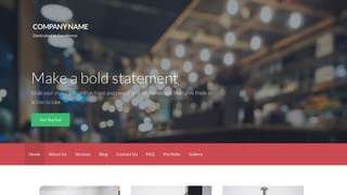 Activation Brasserie WordPress Theme