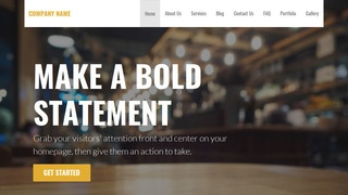 Stout Brasserie WordPress Theme