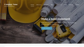 Lyrical Building Contractor WordPress Theme