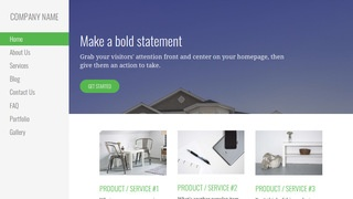 Escapade Building Supplies WordPress Theme