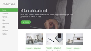 Escapade Business and Management Consultant WordPress Theme