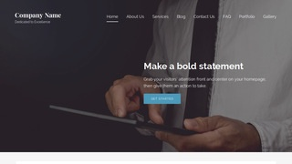 Lyrical Business and Management Consultant WordPress Theme