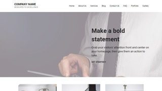 Mins Business and Management Consultant WordPress Theme