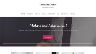Uptown Style Business and Management Consultant WordPress Theme