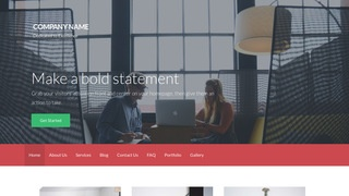 Activation Business Management Service WordPress Theme