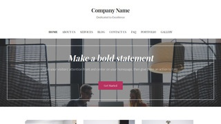 Uptown Style Business Management Service WordPress Theme