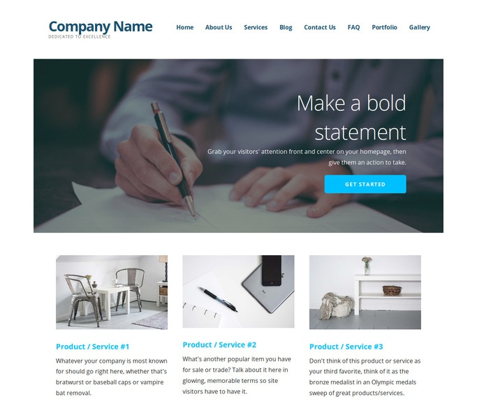 Ascension Business Records Management WordPress Theme