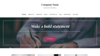 Uptown Style Business Records Management WordPress Theme