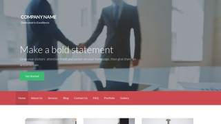Activation Business and Trade Organization WordPress Theme