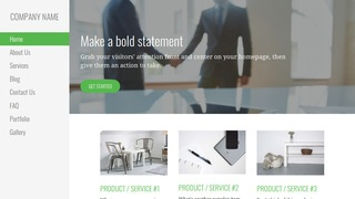 Escapade Business and Trade Organization WordPress Theme