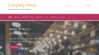 Scribbles Cambodian Restaurant WordPress Theme