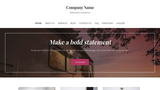 Uptown Style Campers and Camper Shells WordPress Theme