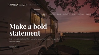 Velux Campers and Camper Shells WordPress Theme