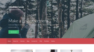 Activation Campground WordPress Theme