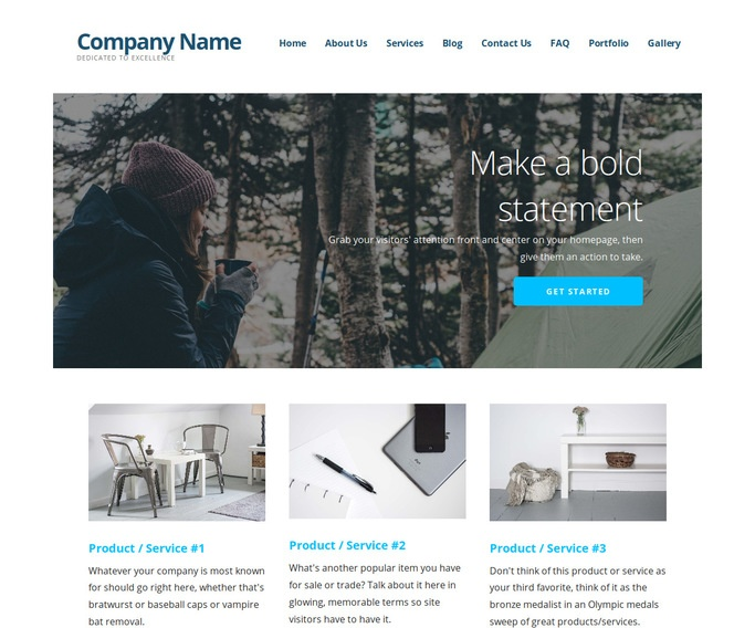 Ascension Campground WordPress Theme