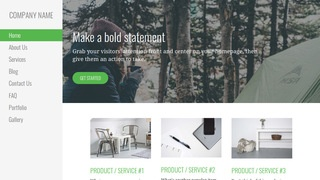Escapade Campground WordPress Theme