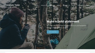 Lyrical Campground WordPress Theme