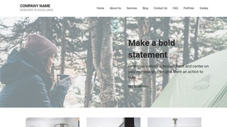 Mins Campground WordPress Theme