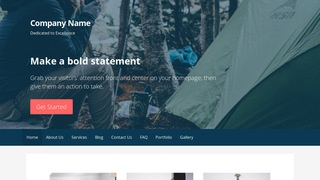 Primer Campground WordPress Theme