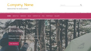Scribbles Campground WordPress Theme