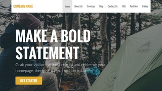 Stout Campground WordPress Theme