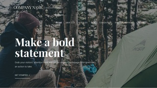 Velux Campground WordPress Theme