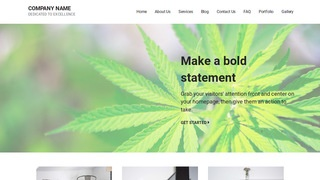 Mins Cannabis Clinic WordPress Theme