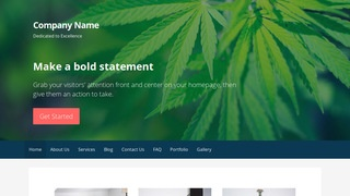 Primer Cannabis Clinic WordPress Theme