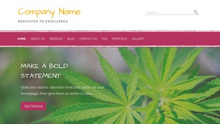Scribbles Cannabis Clinic WordPress Theme