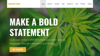 Stout Cannabis Clinic WordPress Theme