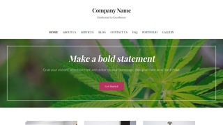 Uptown Style Cannabis Clinic WordPress Theme