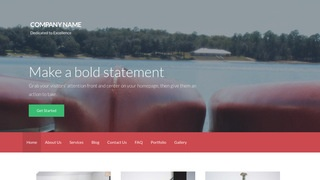 Activation Canoes and Kayaks WordPress Theme