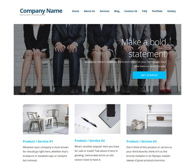 Ascension Career Counseling WordPress Theme