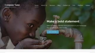 Lyrical Charitable Organization WordPress Theme