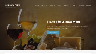 Lyrical Cheese Maker WordPress Theme