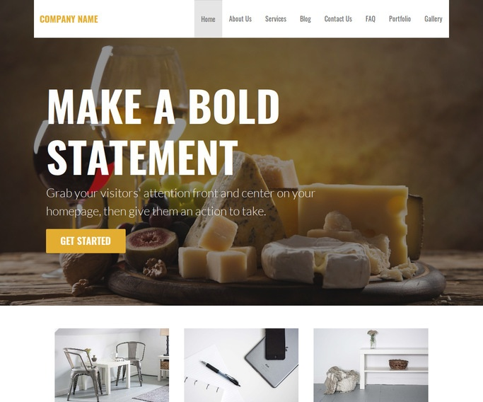 Stout Cheese Maker WordPress Theme