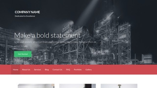 Activation Chemical Plant WordPress Theme