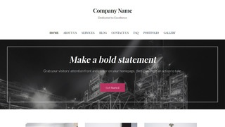 Uptown Style Chemical Plant WordPress Theme