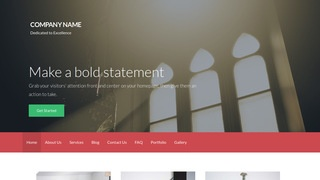 Activation Church WordPress Theme