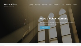 Lyrical Church WordPress Theme