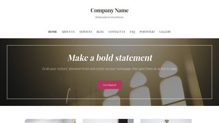 Wordpress themes godaddy uptown style church pronofoot35fo Image collections