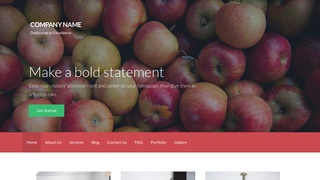 Activation Cider Mill WordPress Theme