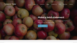 Lyrical Cider Mill WordPress Theme